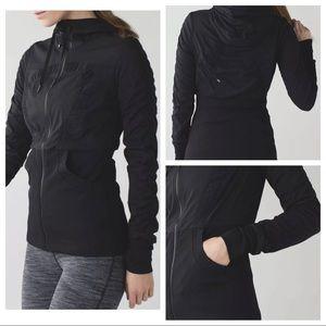 Lululemon Dance Studio Black zip Jacket Hoodie 4